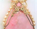 Pink opal pendant  1a  thumb155 crop