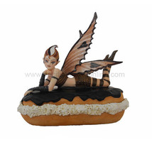SUGAR SWEET FAIRY CHOCOLATE FAIRY COLLECTIBLE DONUT TWINKE BY ANNE STOKES - $37.95