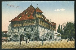 Germany Konstanz Konziliumsgebaude Vintage Tinted postcard  - $5.99