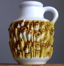 Vintage 60-70's CARSTENS Tönnieshof 7588 Relief Coral Vase W.German Fat ... - $19.79