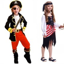 2018 Kids Halloween Costume Bad Pirate Fancy Girls Boys Cosplay Party Su... - $32.71