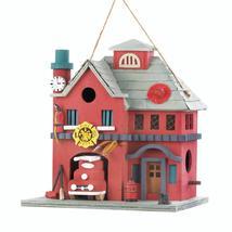 #10018082 *Fire Station Bird House* - £17.98 GBP