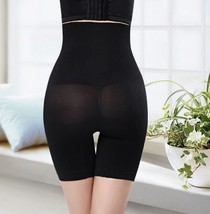 Black Postpartum High Waist Boxer Abdomen Pants Corset Hip Body Shaping ... - $12.70