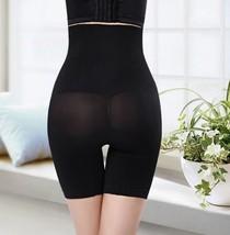 Black Postpartum High Waist Boxer Abdomen Pants Corset Hip Body Shaping ... - $12.70