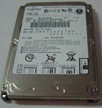 "NEW MHT2040AS Fujitsu 40GB 2.5"" IDE Hard Drive Free USA Shipping Our Drives Work"