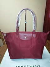 LONGCHAMP Le Pliage NEO Long Handle Large Opera Red - SOLD - $100.00