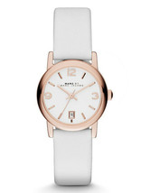 NEW Marc By Marc Jacobs MBM1401 White / Rose Watch NO BOX/NO BATTERY - $79.04