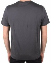 Versace Collection All Over Studded Men's V Neck Tee Grey NWT image 2