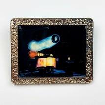 Disney WDI Haunted Mansion Madam Leota's Chamber Silver Tone Frame LE 300 - $84.14