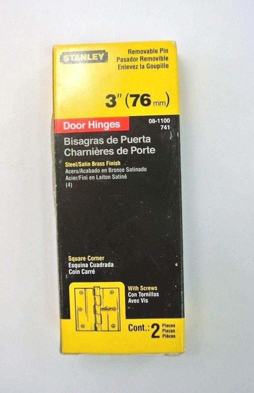 """Paire de Heavy Duty 4/"""" Steel Butt Charnières"""