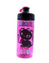 Cool Gear Water Bottle Wickedly Cute Cat Pink Reusable Bpa Free 16 fl oz... - $111,14 MXN