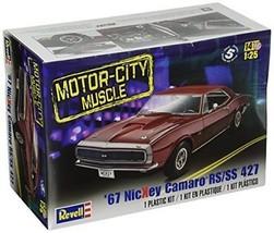 67 Nickey Camaro RS/SS 427 Model Kit Motor City Revell Muscle Race Car K... - $28.60