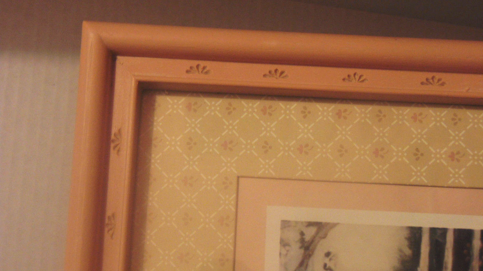 "June Kolarich Framed & Matted 16 1/2""X18 1/2"" Girl & Calf-Bucket-Brush-Pigtails"