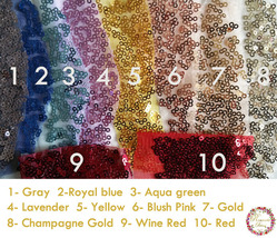 Gold Sequin Maxi Skirt Women Plus Size Sequin Maxi Skirt Sparkly Skirt image 12