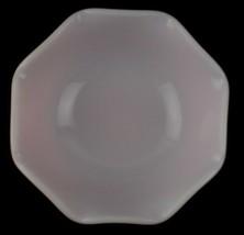 "Hazel Atlas Pink Crinoline Ruffle Ripple Fruit Dessert Salad Bowl 5.5"" D... - $14.84"