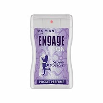 2 X Engage Woman Floral Fresh Pocket Perfume,18 Ml  250 Sprays - $7.38