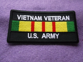 Vietnam Veteran Army Patch  - $5.25