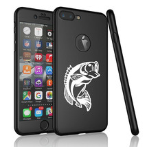 For iPhone 360° Full Body Thin Slim Hard Case Cover + Screen Protector B... - $14.99