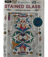 Stained Glass Coloring Book Kappa Books Designe... - $7.99