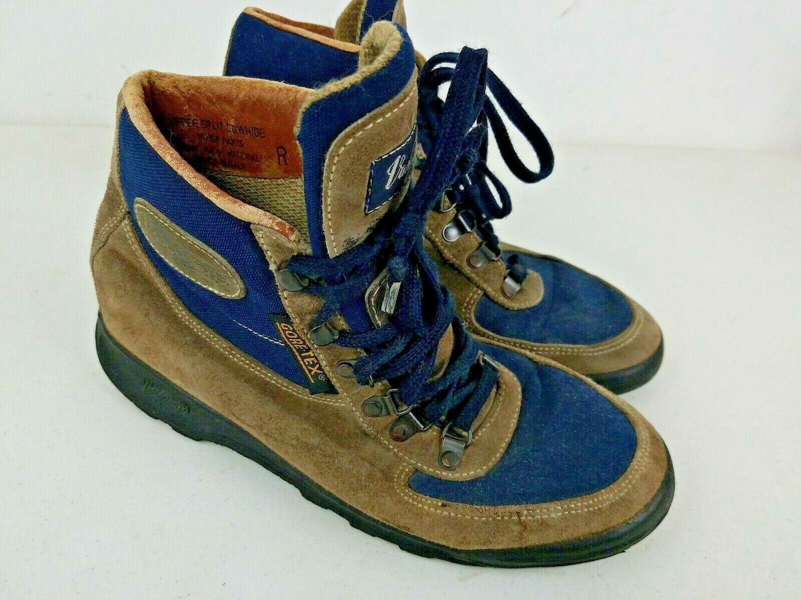 49677405f69 Vasque Gore-Tex Navy Blue Brown Genuine and 41 similar items