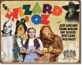 70th Anniversary of The Wizard of Oz Classic Movie Metal Sign - $19.95