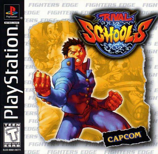Rival Schools PS1 Great Condition Fast Shipping