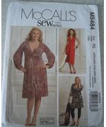 McCall's Misses' And Women's Dresses Size 20W-28W Uncut #M5484 - $6.99