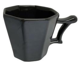 Starbucks Gray Gunmetal Coffee Mug 14 oz. 2013 Octagon Rococo Tazo - $12.76