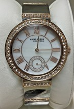 Anne Klein 12/2281MPRT Two-Tone Rose Gold Swarovski Crystal Women's Watch - $28.70