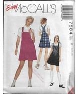Easy McCall's Pattern #7584-Misses Jumper-Sizes-8-10-12 - $4.95