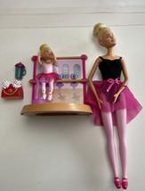 1 Ballerina Barbie Pink 2013 Blonde 1  Chelsie Ballerina plus Stage Acce... - $44.55