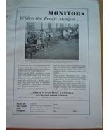 Latham Machinery Compay Print Magazine Ad 1930 - $12.99