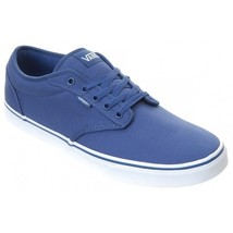 VANS Atwood (Canvas) STV Navy/White Casual Skate MEN'S SIZE 8.5 - $47.94