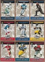 Upper Deck NFL Football 1994 Crash The Game Silver Cards Lot of Barry Sanders - $7.25
