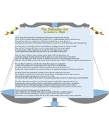The Balancing Act - Printable Poetry Instant Download - $1.98
