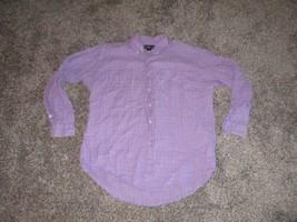 Ralph Lauren Blake, Men's Linen Shirt, Purple, XL - $14.99