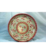 Temptations Floral Lace Hot Pink  Coupe Dinner Plate - $10.07