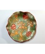 Bowl DishHandmade Polymer Clay Cats N Hearts Multicolored Ring Dish Trin... - $40.00