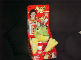 Michael Jackson Pets Uncle Tookie The Frog Plush Toy With Box & Cassette  - $140.24