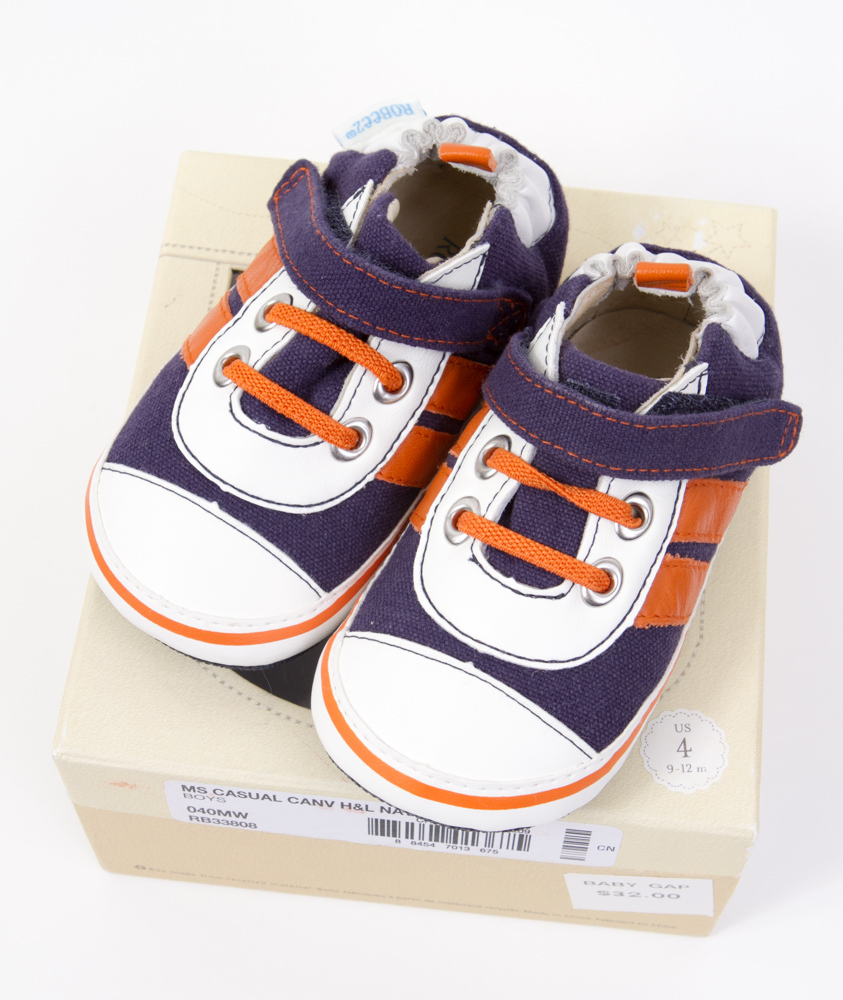 677e2d371fd83 Robeez Shoes for Baby Boy  Size 4 (9-12 and 50 similar items. Ebay 7577