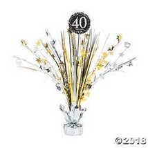 Sparkling Celebration 40th Birthday Centerpiece - $6.24