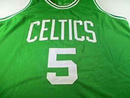 KEVIN GARNETT / NBA CHAMPION / AUTOGRAPHED BOSTON CELTICS CUSTOM JERSEY / COA image 2