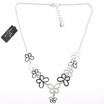 Necklace Silver 925, Row of Butterflies, by Maria Ielpo , Made in Italy image 2