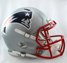New England Patriots Helmet Riddell Authentic Full Size Speed Style**Fre... - $290.00