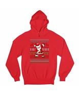 Here Comes Santa Floss Sweatshirt Ugly Sweater Christmas Flossing Hoodie - $27.07+