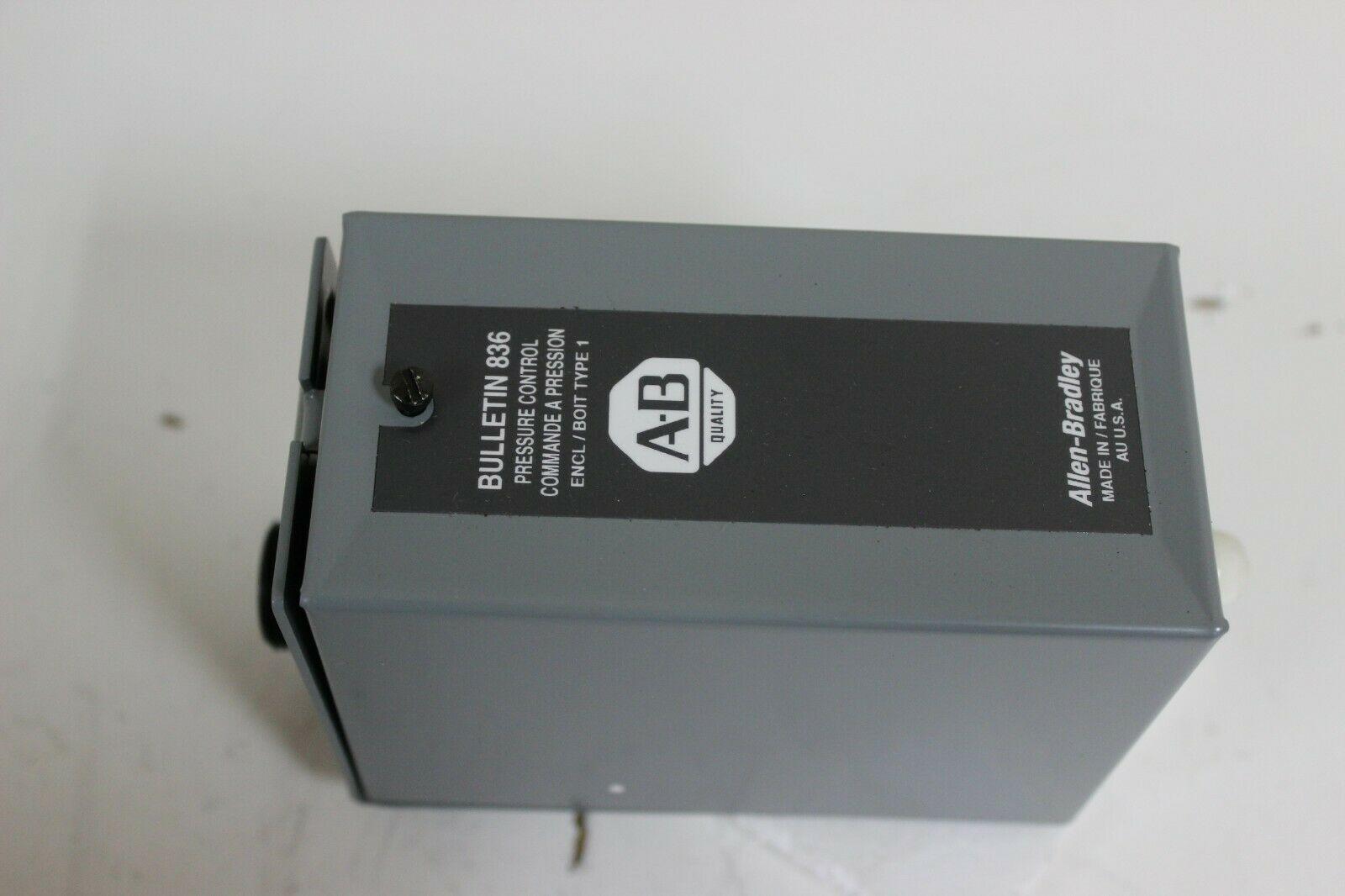 Allen-Bradley 836-A2AX42 Bulletin 836 Pressure Control New