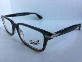 b7de15dcc5 New Persol 2965-V-M 1012 55mm Gray Rectangular Men  39 s Eyeglasses Frame