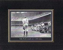 Touching and Heartfelt Poem for Motivations - [Babe Ruth struck out 1,330 times] - $10.84