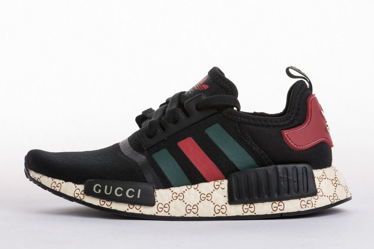 Gucci x adidas NMD R1 Primeknit Black