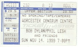 RARE Bob Dylan Phil Lesh 11/14/99 Worcester MA ... - $6.79